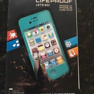 Lifeproof iPhone waterproof case for the 4 or 4S